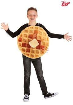 Stranger Things Waffle Costume Ideas - Best Costumes  #StrangerThings #StrangerThingsCostume #HalloweenCostumes #ElevenCostumes #Eleven #Demogorgon #StarCourtMall #Wafflecostumes