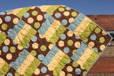 Squares & Strips Quilt Pattern Baby Quilt by ComeWhatMayCreations
