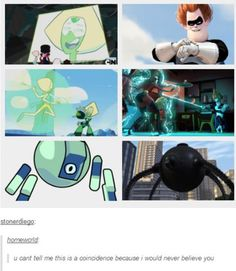 Steven Universe, Peridot, The Incredibles, Syndro Steven Universe Theories, Steven Universe Gem, Universe Art, Gravity Falls, Pokemon, Lapidot, Star Vs The Forces Of Evil, Cartoon Network, Adventure Time