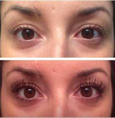 LOVE the natural look of long lashes!  this is mascara too!!!  not extensions! <3