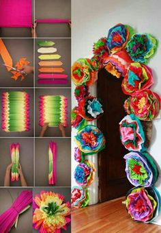 New Dollar Tree Crafts Birthday Baby Shower 33 Ideas Mexican Birthday Parties, Mexican Fiesta Party, Fiesta Theme Party, Party Themes, Mexico Party Decorations, Mexican Fiesta Decorations, Party Ideas, Day Of The Dead Party, Quinceanera Party