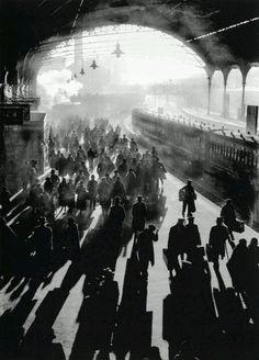 London Victoria Station, 1934.