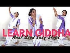 Most Used Easy Giddha Steps l Kaur Amy - YouTube Pakistani Shadi, Try Again, Amy, Social Media, Dance, Music, Youtube, Dancing, Musica