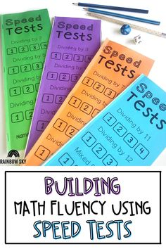 If you are looking for a fun and engaging way to help your 2nd grade, 3rd grade, 4th grade, or 5th grade students develop fluency in their number facts, you need to check out my Mega Bundle for Math Fluency! These printable booklets are perfect for whole group or center activities as students work on their recall fluency with addition, subtraction, multiplication, and division number facts. Teaching Math, Teaching Resources, Teaching Ideas, Primary Maths, Primary Classroom, Fluency Activities, Professional Development For Teachers, Rainbow Sky, Australian Curriculum