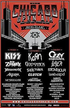 #Tickets (2) 2017 CHICAGO OPEN AIR FESTIVAL TICKETS; BRIDGEVIEW IL JULY 14th 15th 16th #Tickets