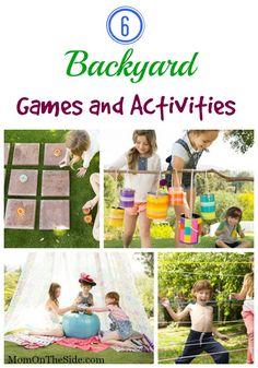 6 Backyard Games & Activities #TurfMutt #ad
