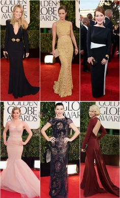 Inspiration from the 2013 Golden Globes Red Carpet