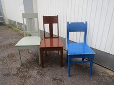 Ihania, vanhoja tukevia tuoleja, MYYTY.