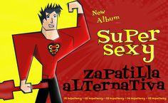 """Arte de tapa para el nuevo demo de """"Zapatilla Alternativa"""""""