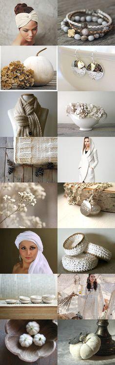 Autumn Whites by Marukasa on Etsy--Pinned with TreasuryPin.com