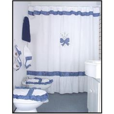 cortinas de baño - Buscar con Google Pink Curtains, Velvet Curtains, Bathroom Shower Curtains, Bathroom Sets, Bed Lights, Curtain Designs, Bathroom Organisation, Bed Spreads, Country Decor
