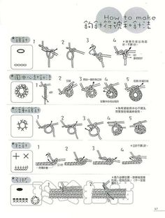 Japanese crochet symbols and terms Crochet Stitches Chart, Crochet Basics, Crochet For Beginners, Crochet Motif, Irish Crochet, Knitting Stitches, Crochet Lace, Japanese Crochet Patterns, Crochet Instructions