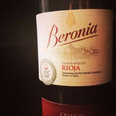 2009 Beronia Tempranillo, Rioja DOCa, Spain