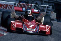 Grand Prix Automobile de Monaco – 1976 FIA Formula One World Championship (round – Circuit de Monaco – Martini Racing – Brabham-Alfa Romeo – Carlos Reutemann (RA) – Result: DNF (Accident) – Grid: Martini Racing, Bmw Turbo, Ferrari, Win Car, Automobile, Alfa Romeo Cars, Monaco Grand Prix, Formula 1 Car, F1 Racing