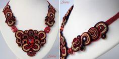Ожерелья Aurus Jadwiga Soutache Necklace, Crochet Necklace, Necklaces, Amazing, Jewelry, Fashion, Moda, Jewlery, Jewerly