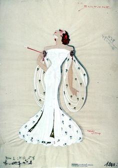 I need to find an excuse to hit this pose more often by Freddy Wittop Paris Music Hall :: Hargrett Library :: University of Georgia Libraries Barbie Fashion Sketches, University Of Georgia, Library University, Fashion Art, Vintage Fashion, Disney Princess Fashion, Dress Painting, Theatre Costumes, Flappers