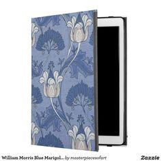 William Morris Blue Marigold Wallpaper