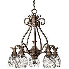 Elegant Hinkley Plantation Pearl Bronze Five Light Chandelier · 5 Light  ChandelierChandeliersLighting ...