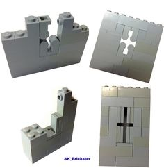 Tablescrap Tutorial #03 - Crossbow Openings   by AK_Brickster