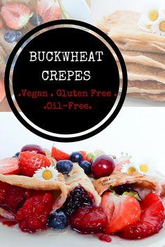 Buckwheat Oat Crepes