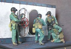 Dioramas and Vignettes: SEAL team 8, photo #2
