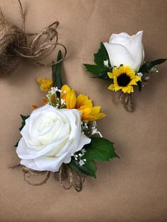 Artificial Sunflower Bridal Bouquet, Sunflower Bridal Flowers, Sunflower Wedding Flowers - New Ideas Prom Flowers, Bridal Flowers, Flower Bouquet Wedding, Rose Wedding, Fall Wedding, Wedding Shit, Wedding Ideas, Wedding Men, Trendy Wedding