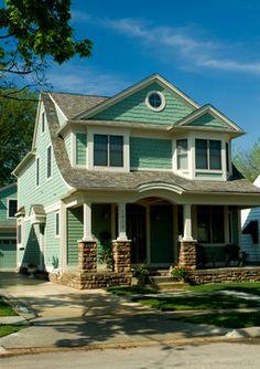 Home Exteriors - Traditional - Exterior - Detroit - Carnovale Associates