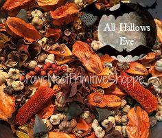 BULK All Hallows Eve Potpourri with Pumpkin by crowsnestprimitive