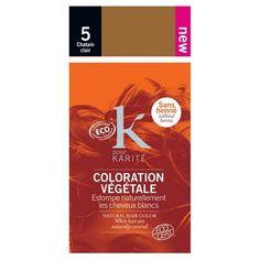 COLORATION VEGETALE CERTIFIE BIO - Poudre - K pour Karité