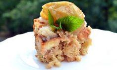 pudding chlebowy z jabłkami i cynamonem