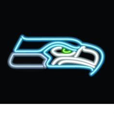 Seattle Seahawks Neon Sign at SportsFansPlus.com