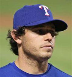 Ian Kinsler- cutie-pie from the Rangers!