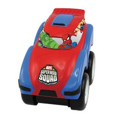 Marvel Super Hero Squad Kaboomerz Roto-Motos Vehicle (Colors/Styles Vary) RJ Quality Products.