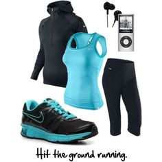 Cute outfit for working out.