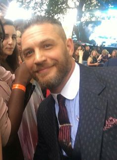 Tom Hardy at the Dunkirk Premiere in London.