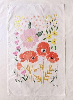 Summer Dishtowel by Lisa Rupp