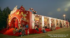 Coca Cola Event Tent|Costomized Frame Tent|Party Tent|Event Tent|Frame Structures