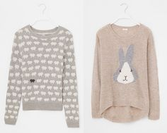 one sheepish girl - sweater collection.   Love these knitted jerseys!