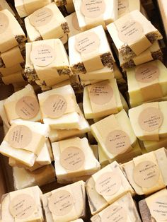 Rustic Farm Fresh Soap 150 Wedding Favors by oldgatesfarm on Etsy, $300.00  **LOVE her wording for Etsy shop!**