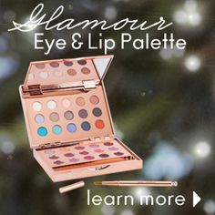 Great glamour Eye & Lip Palette  Jane Iredale. Beautiful present for Christmas, price € 69,95.