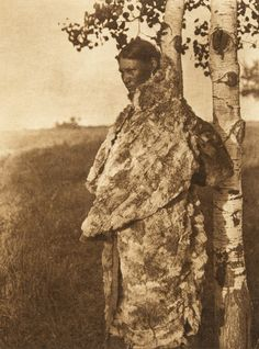 Cree woman with fur robe (The North American Indian, v. Norwood, MA, The Plimpton Press, Native American Totem, Native American Regalia, Native American Beauty, Native American History, Native Indian, Indian Art, Cree Indians, First Nations, Art Prints