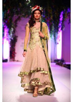 Falguni Shane Peacock Collection at Indian Bridal Fashion Show 2013 at Delhi 02