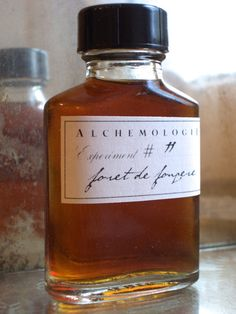 Foret de Fougere Natural Cologne in a Vintage Bottle by Alchemologie