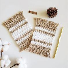 Crochet Wall Hangings, Crochet Hooks, Crochet Geek, Knit Crochet, Crochet Cup Cozy, Crochet Humor, Cotton Crochet, Easy Crochet, Crochet Coaster Pattern