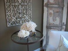 Rubber mats as make do iron wall art