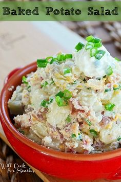 Loaded Baked Potato Salad | 9 Potato Salads That Could Change Your Life