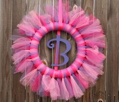 How to Make a Tulle Wreath | typeaparent