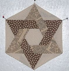 You can join in this Hexalong at any time and use the templates I am using or just do your own hexagons. The starter post for the HAL is he...