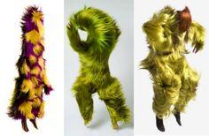 Nick Cave  fake fur costumes