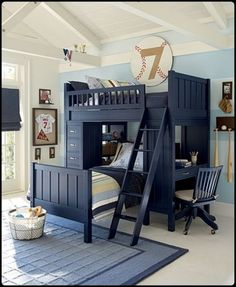 Frame the first jersey - such a cute idea for a little boys room!